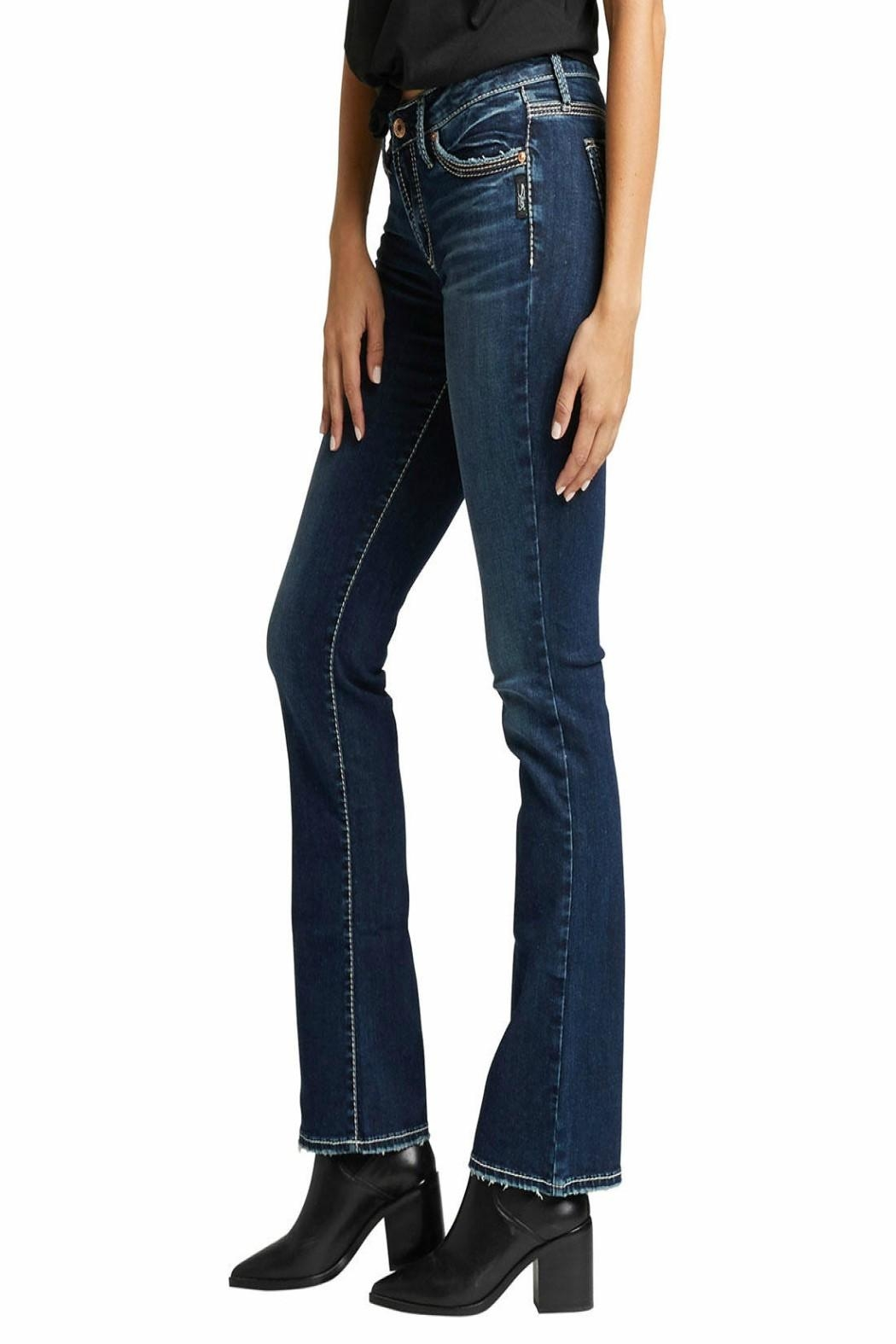 Silver Jeans Co. Suki Slim-Boot Jeans - Side Cropped Image