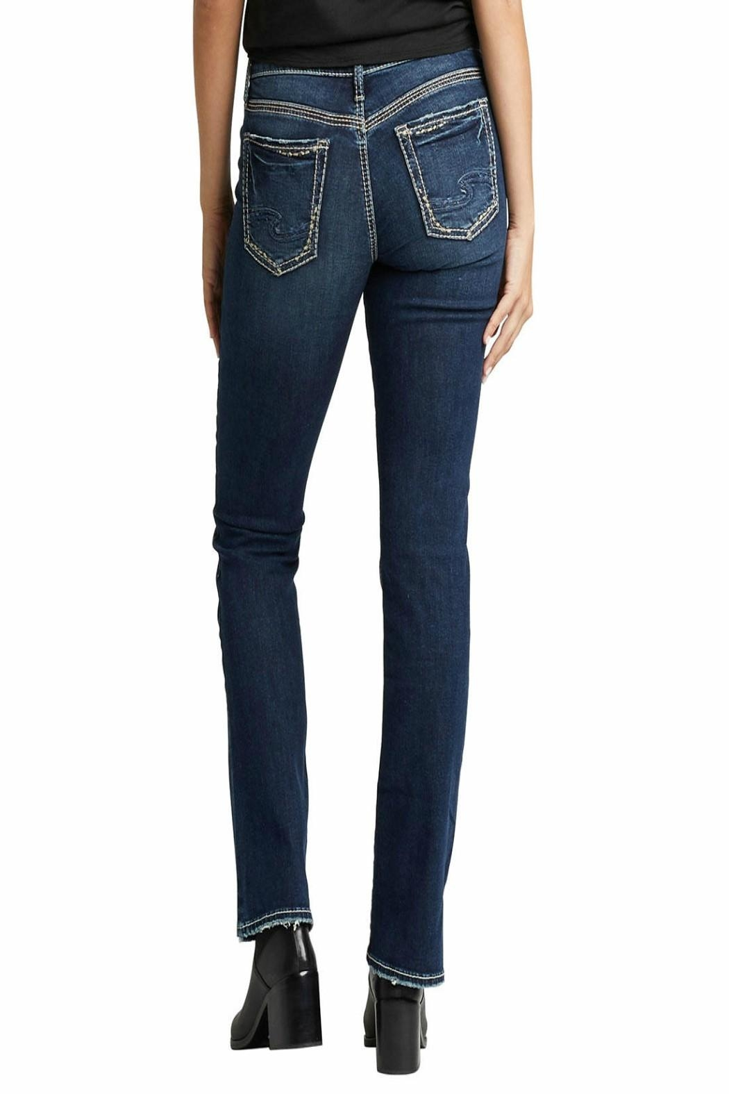 Silver Jeans Co. Suki Slim-Boot Jeans - Front Full Image