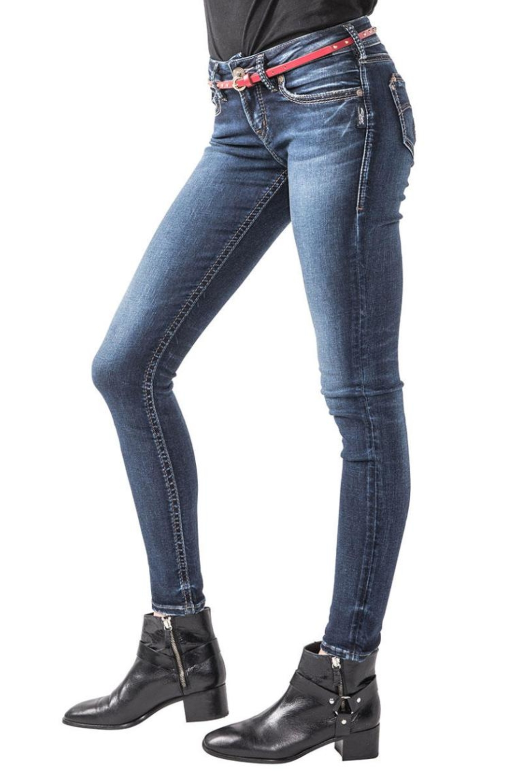 Silver Jeans Co. Suki Super Skinny - Side Cropped Image