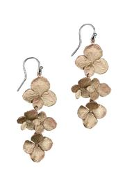 Silver Seasons  Hydrangea Cluster Earrings - Product Mini Image