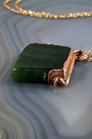 Silver Serpent Studio Canadian Jade Pendant - Front full body