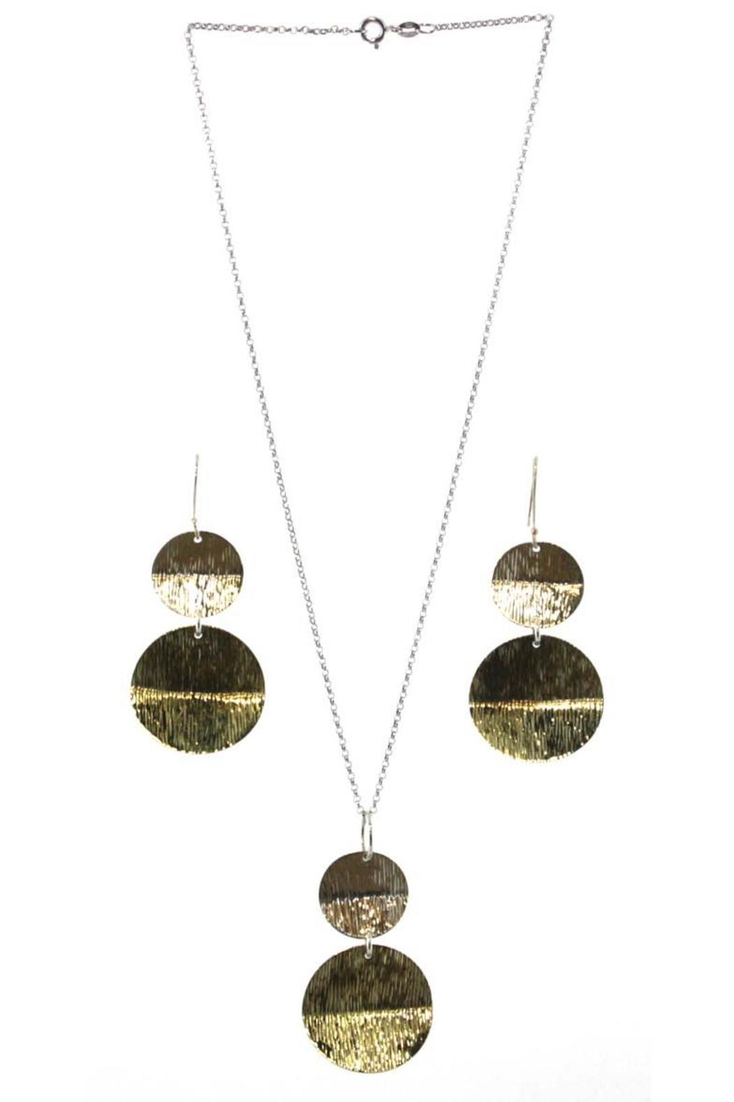 Silver Stars Collection Necklace & Earring Set - Main Image