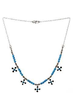 Silver Stars Collection Turquoise Necklace - Alternate List Image