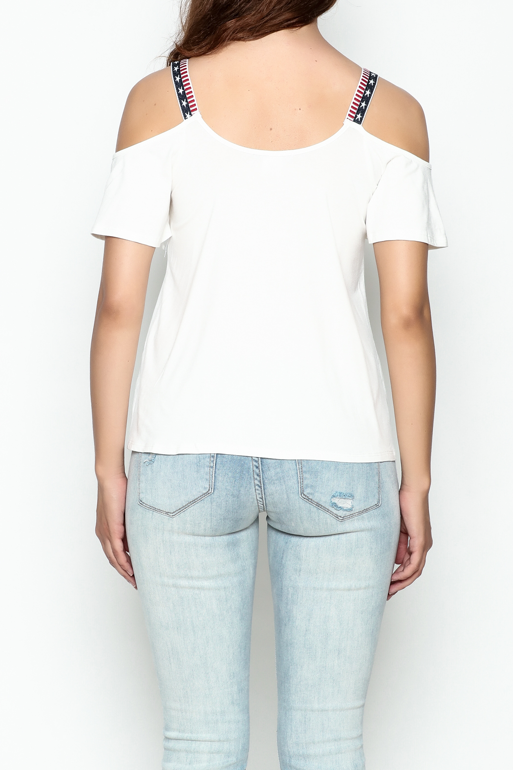 Silvergate Be Brave Tee - Back Cropped Image