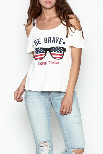 Silvergate Be Brave Tee - Main Image