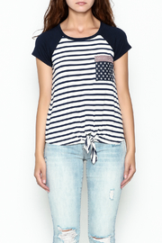 Silvergate Flag Pocket Tee - Front cropped