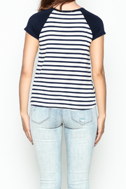 Silvergate Flag Pocket Tee - Back cropped