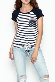 Silvergate Flag Pocket Tee - Side cropped