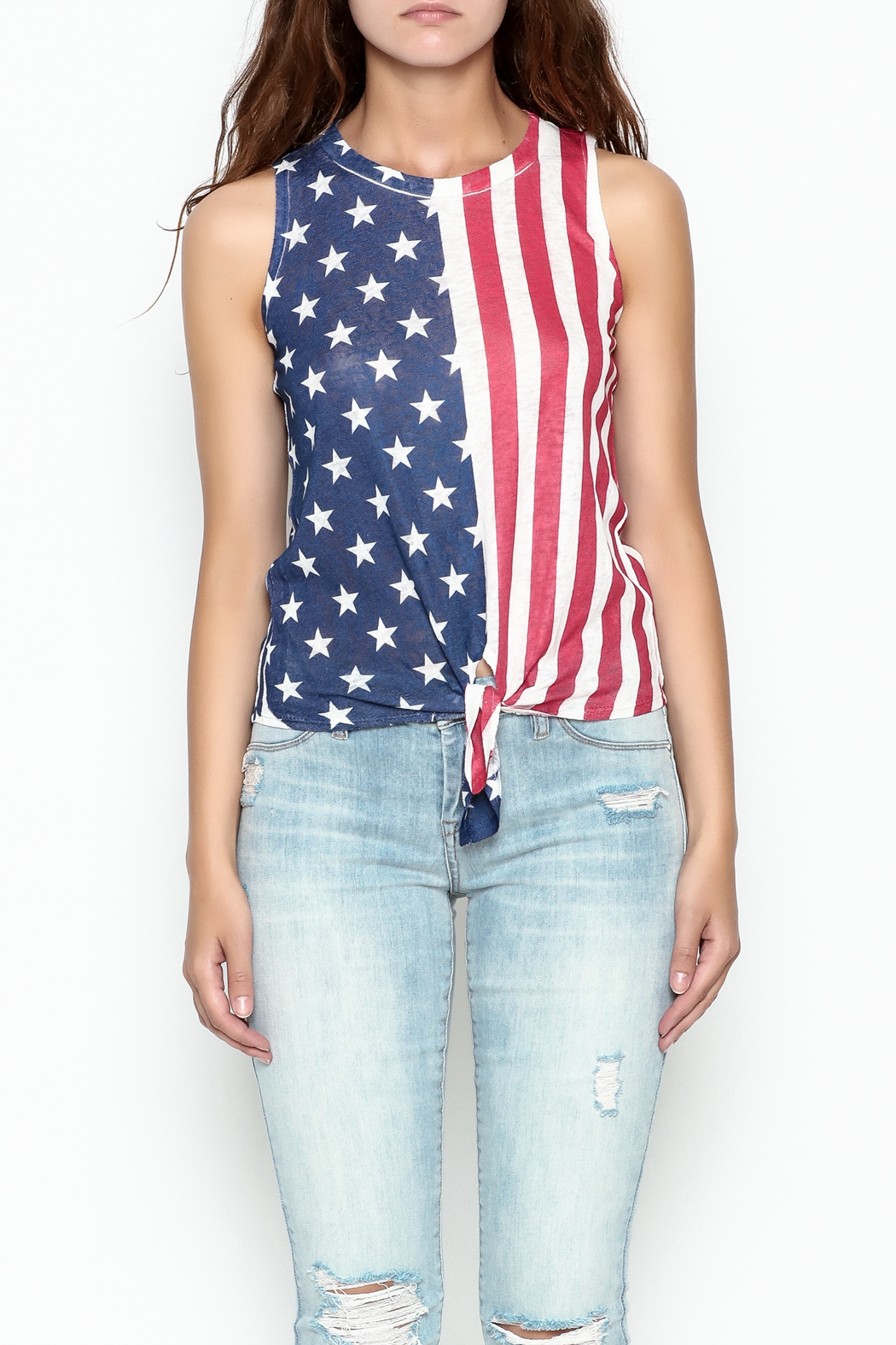 Silvergate Flag Tee - Front Cropped Image