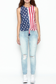 Silvergate Flag Tee - Front full body