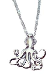 Silverspoon Octopus Necklace - Front full body