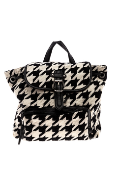 Simi houndstooth backpack - Product List Image