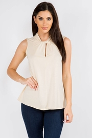 Survival Simmons Sleeveless Twist Front Top - Product Mini Image