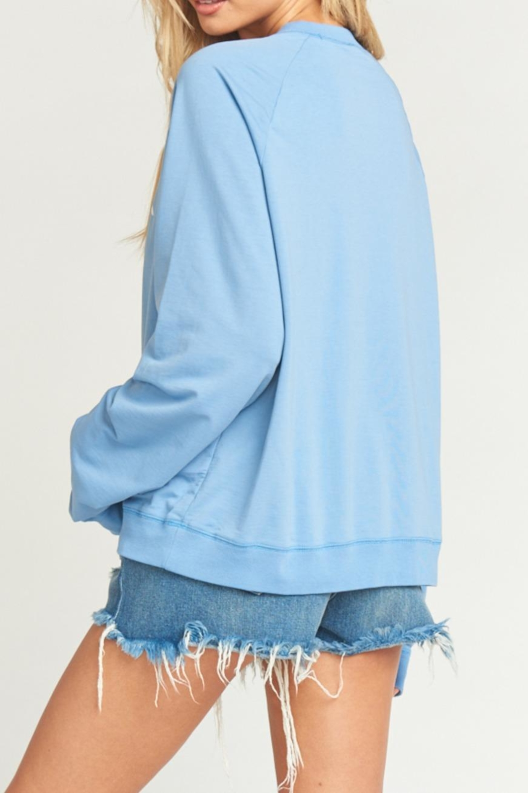 Show Me Your Mumu Simon Pullover - Back Cropped Image