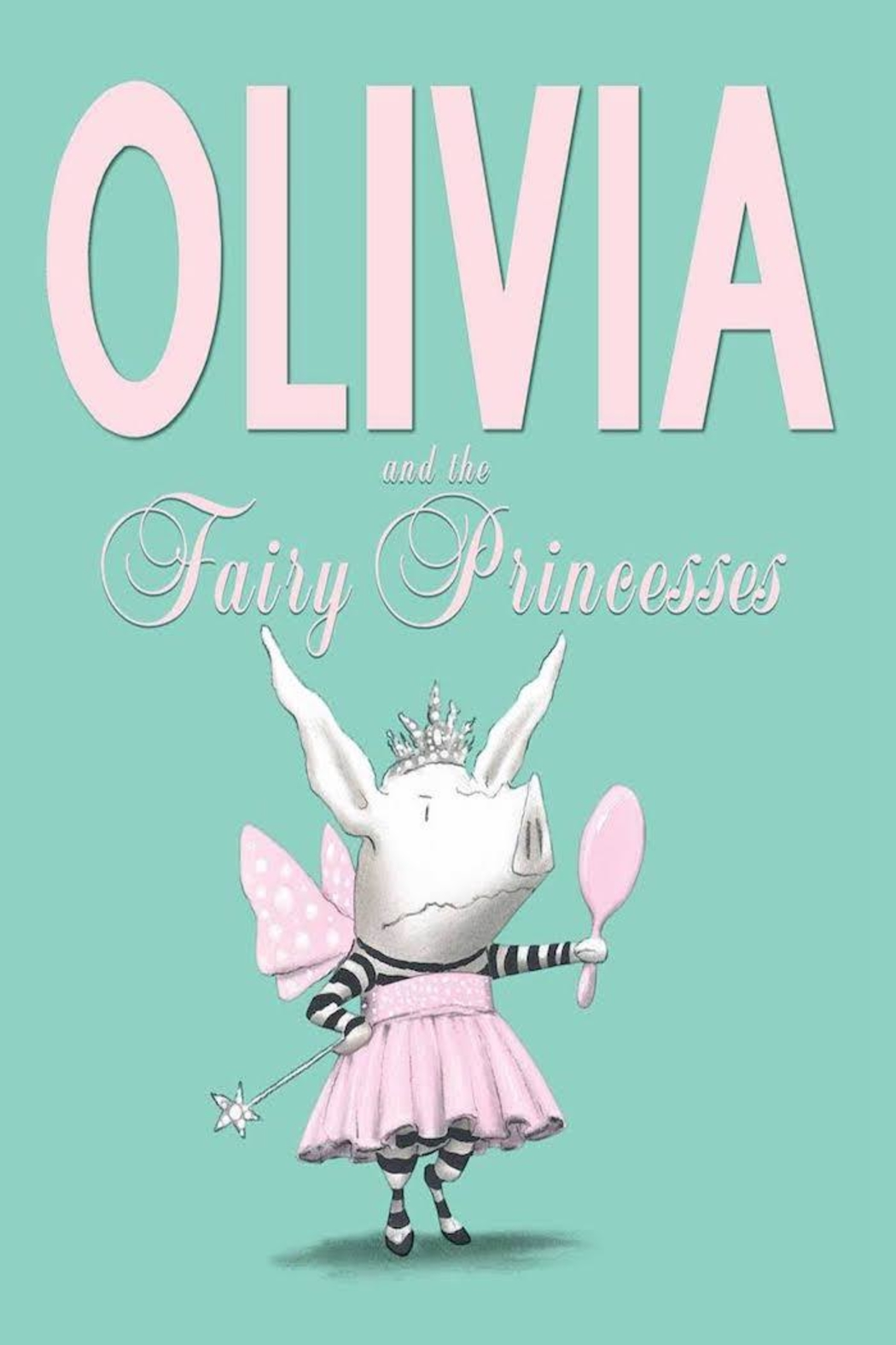 Simon & Schuster Olivia Fairy Princesses Book - Main Image