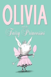 Simon & Schuster Olivia Fairy Princesses Book - Front cropped