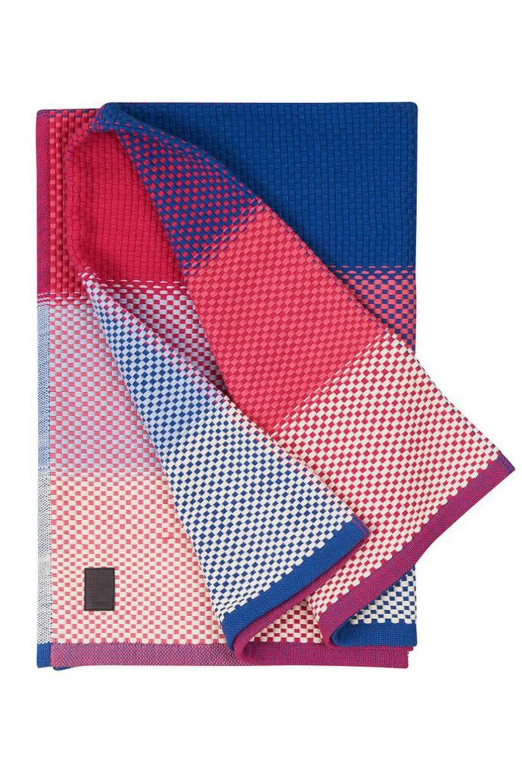 Simon Key Bertman Woven Cotton Throw - Main Image