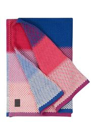 Simon Key Bertman Woven Cotton Throw - Side cropped