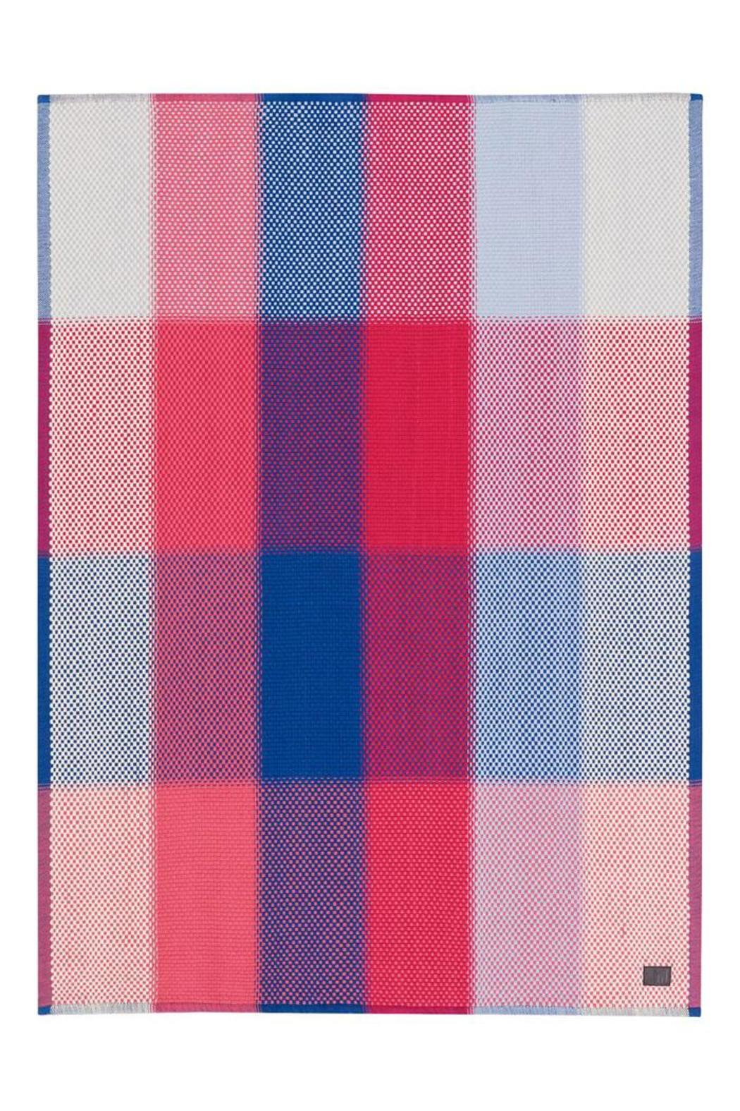 Simon Key Bertman Woven Cotton Throw - Front Cropped Image