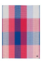 Simon Key Bertman Woven Cotton Throw - Front cropped