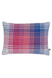 Simon Key Bertman Woven Shoelace Pillow - Front cropped