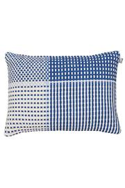 Simon Key Bertman Woven Shoelace Pillow - Front full body