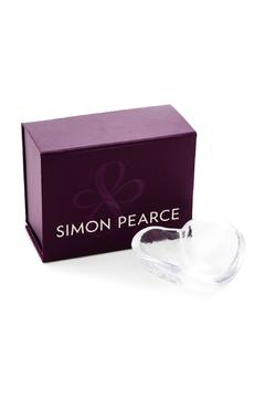 Simon Pearce Glass Heart Dish - Alternate List Image