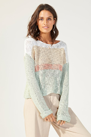MinkPink Simone Color Block Knit Sweater - Other