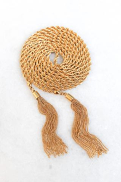 Kinsey Designs Simone Rope Lariat - Product List Image