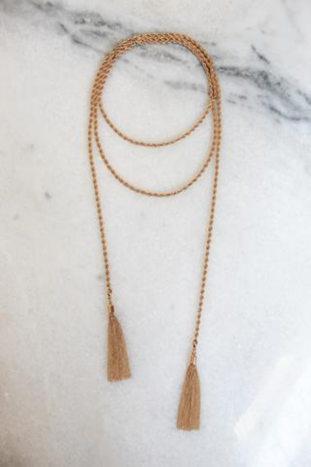 Kinsey Designs Simone Rope Lariat - Side Cropped Image