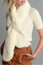 Simonetta Ivory Fur Scarf - Other