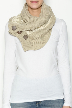 Shoptiques Product: Lace Trim Scarf