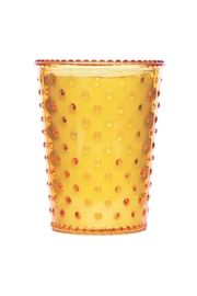 Simpatico Quince Glass Candle - Front cropped