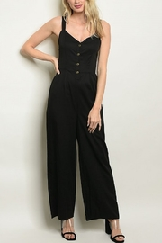 Lyn -Maree's Simple Black Jumpsuit - Product Mini Image