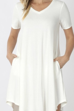 Kindred Mercantile Simple Fav-T dress w/pockets - Product List Image