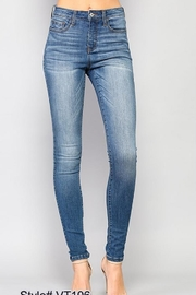 Simple Hi-Rise Skinny Denim - Product Mini Image