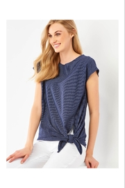 Giftcraft Inc.  Simple Knit Tie Tee - Front cropped