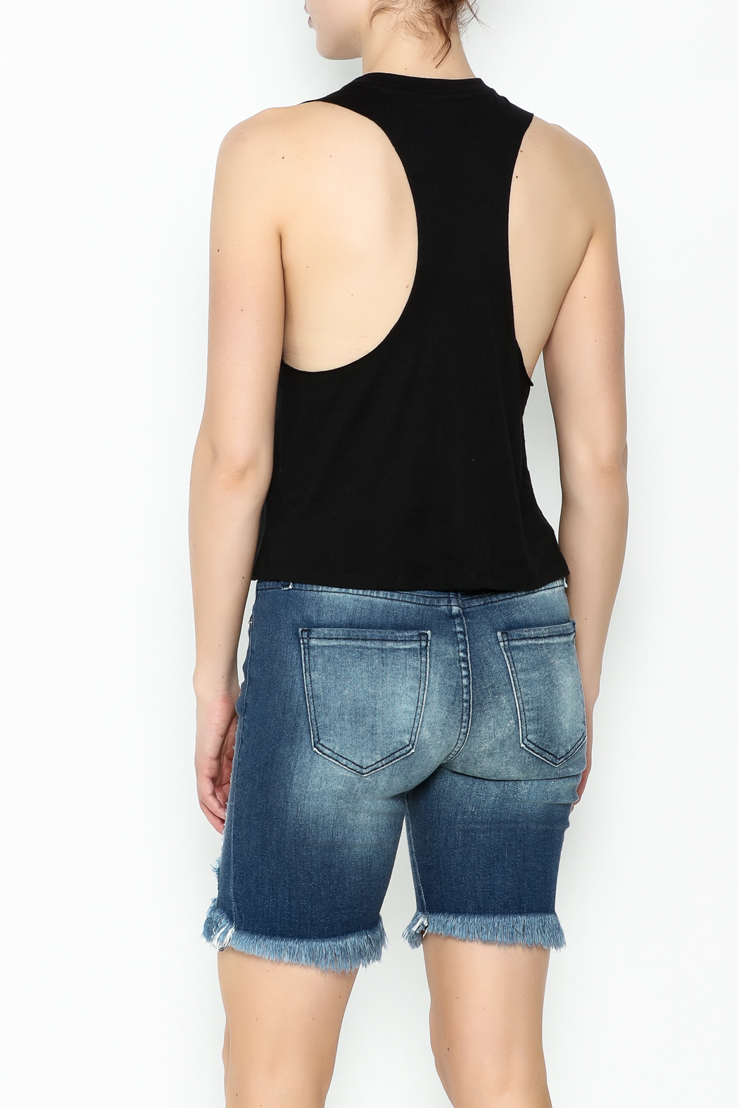 Simple LA Tank Top - Back Cropped Image