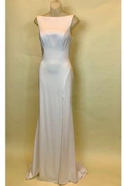 Mac Duggal VERY SIMPLE LONG WHITE DRESS - Product Mini Image