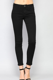 Simple Mid Skinny Denim - Front cropped