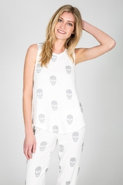 PJ Salvage Simple Skull Tank - Front full body