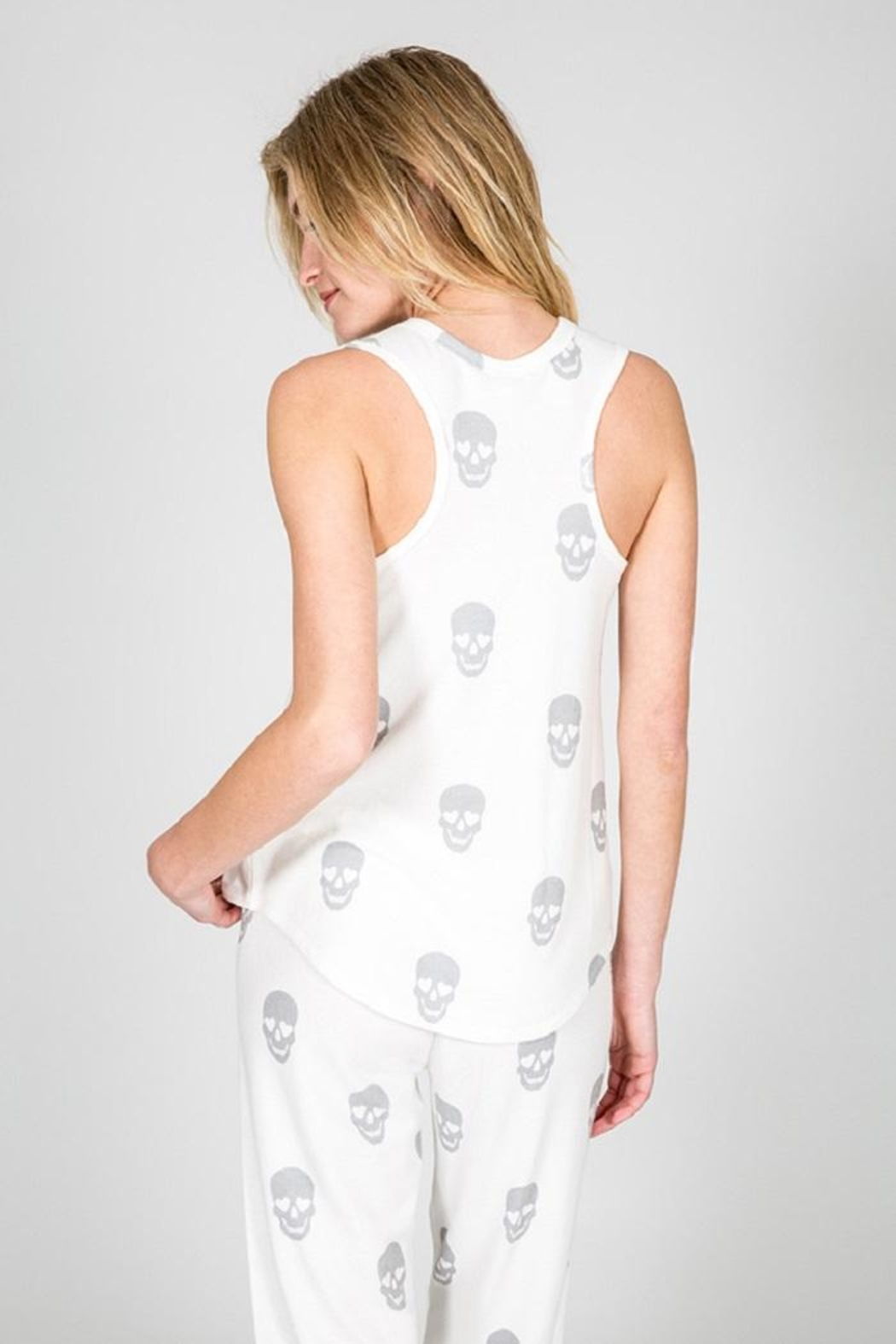 PJ Salvage Simple Skull Tank - Side Cropped Image