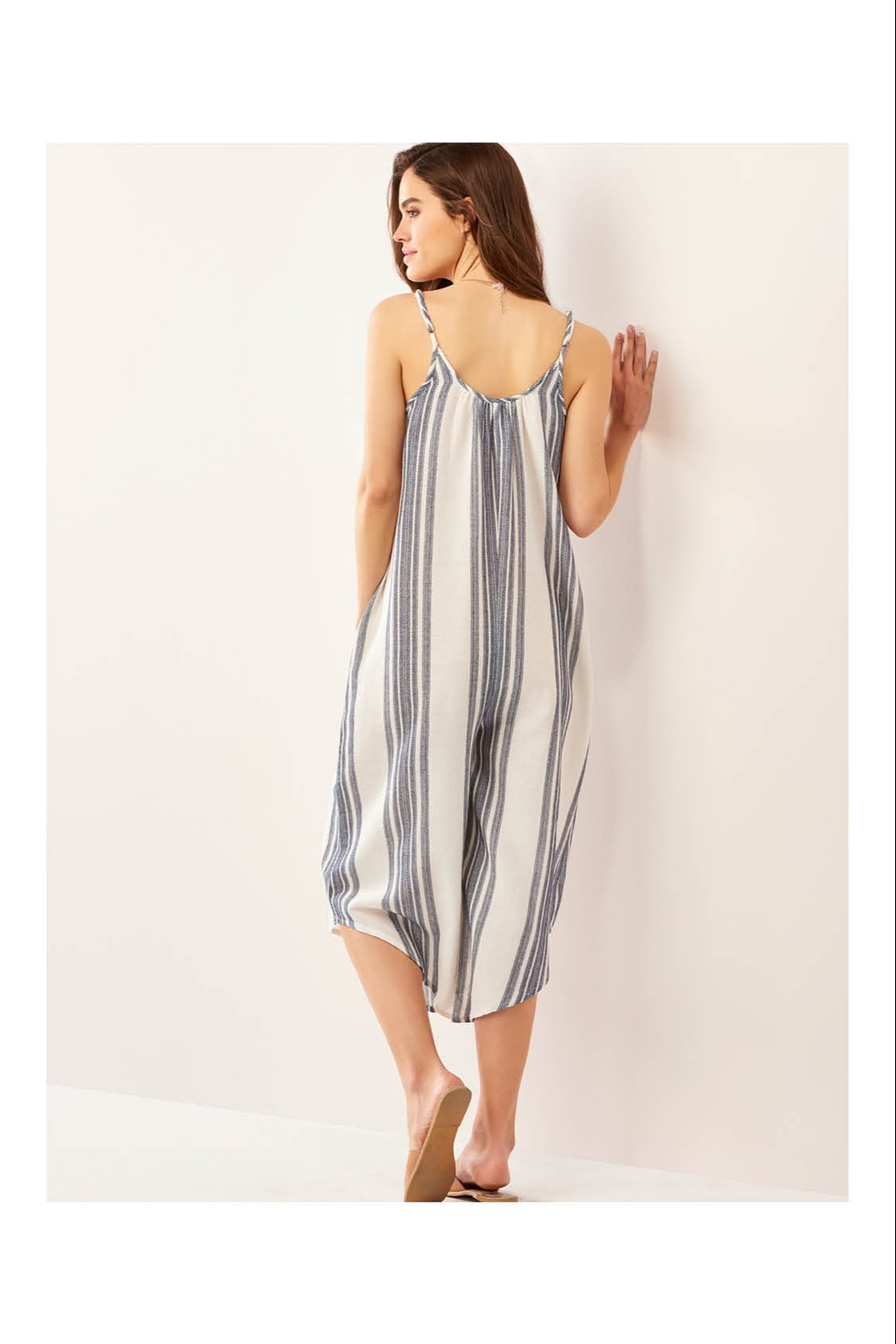 Giftcraft Inc.  Simple Striped Jumpsuit - Front Full Image