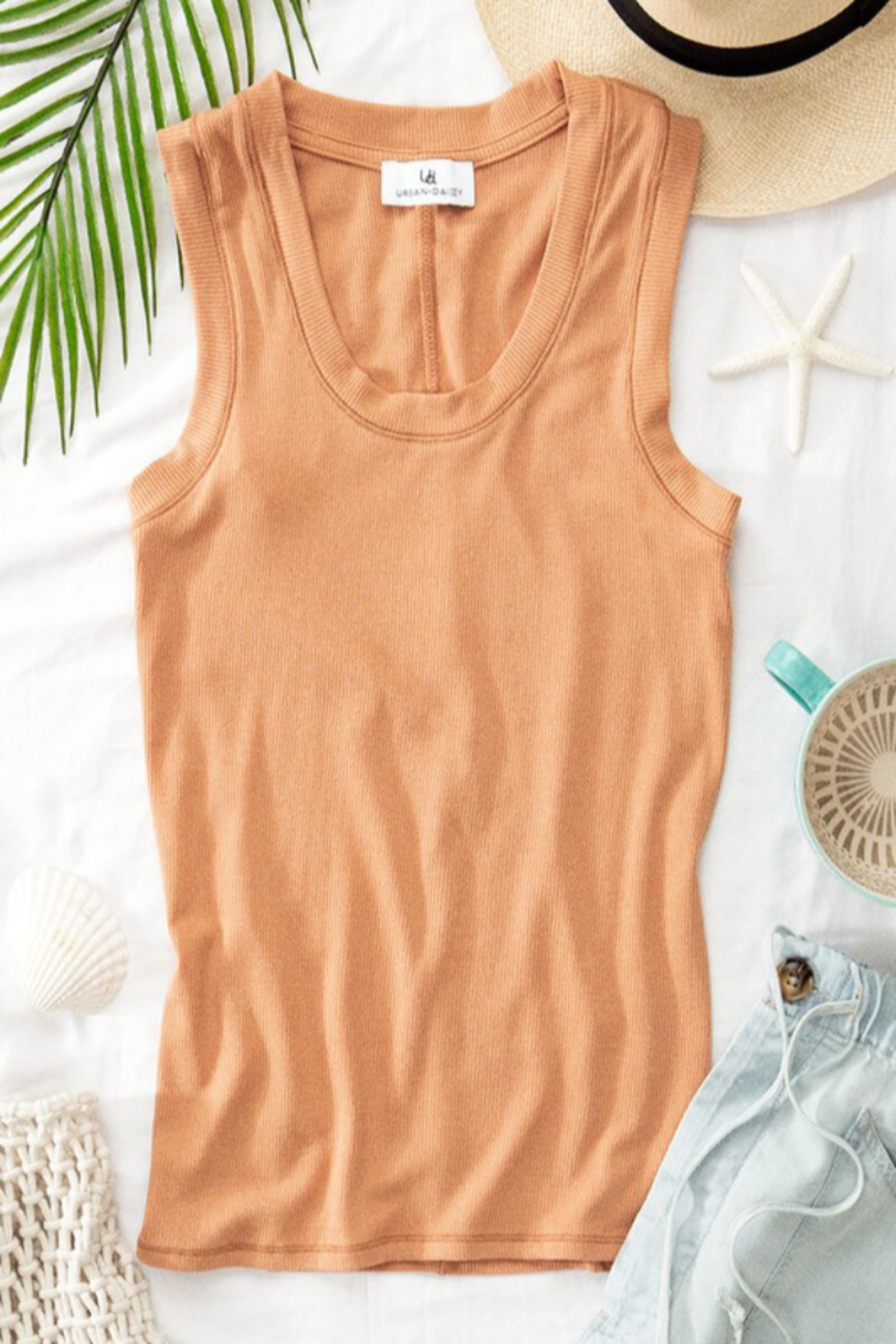 Trend Notes  Simple Tank - Front Cropped Image