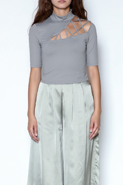 simple the label Cage Top - Front full body