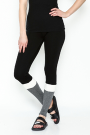 simple the label Color Block Leggings - Front cropped