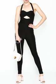 simple the label Cutout Jumpsuit - Product Mini Image