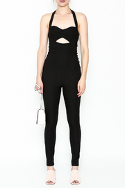 simple the label Cutout Jumpsuit - Front full body