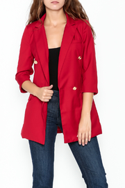 simple the label Double Breasted Blazer - Product Mini Image