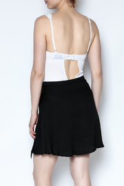 simple the label Grommet Bodysuit - Back cropped